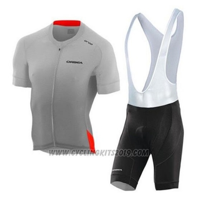 2020 Cycling Jersey Orbea Yellow Orange Short Sleeve and Bib Short