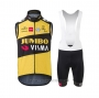 2021 Wind Vest Jumbo Visma Yellow Black