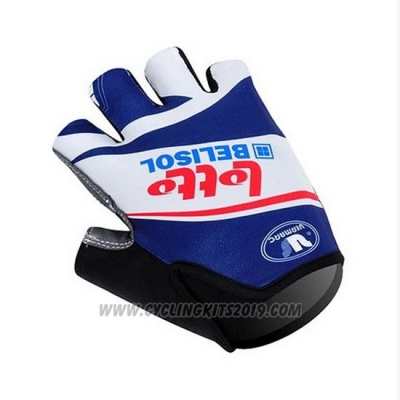 2012 Lotto Gloves Cycling Blue