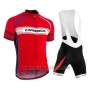 2015 Cycling Jersey Orbea Red Short Sleeve and Bib Short