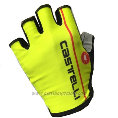 2017 Castelli Gloves Cycling Yellow
