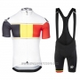 2017 Cycling Jersey Assos Campione Belgium Short Sleeve and Bib Short