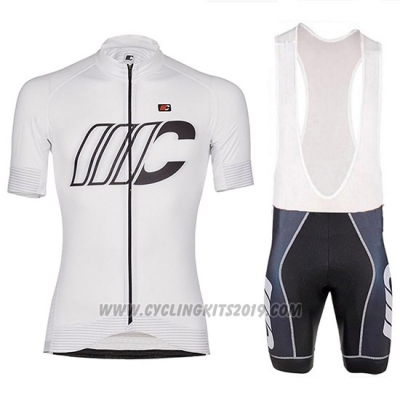 2018 Cycling Jersey Cipollini Shading White Short Sleeve and Bib Short