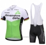 2018 Cycling Jersey UCI Mondo Campione Dimension Date Green Short Sleeve and Bib Short