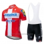2019 Cycling Jersey Deceuninck Quick Step Champion Switzerland Short Sleeve and Bib Short