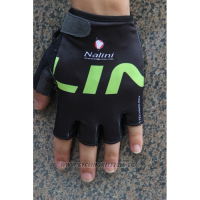 2020 Nalini Gloves Cycling Black Green