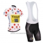 2014 Cycling Jersey Saxobank Lider White and Red Short Sleeve and Bib Short