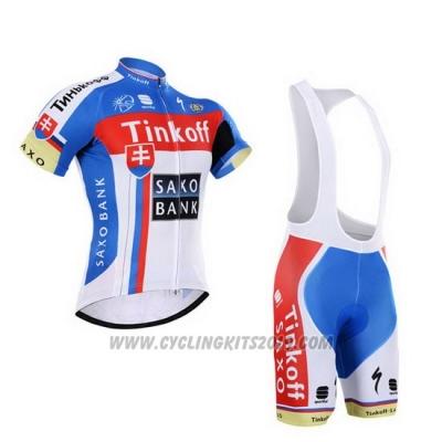 2015 Cycling Jersey Tinkoff Saxo Bank Campione Slovakia Short Sleeve and  Bib Short b859e7f41