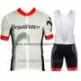 2015 Cycling Jersey Wieiev Red and Gray Short Sleeve and Bib Short