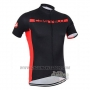 2016 Cycling Jersey Castelli Black Red Short Sleeve and Bib Short
