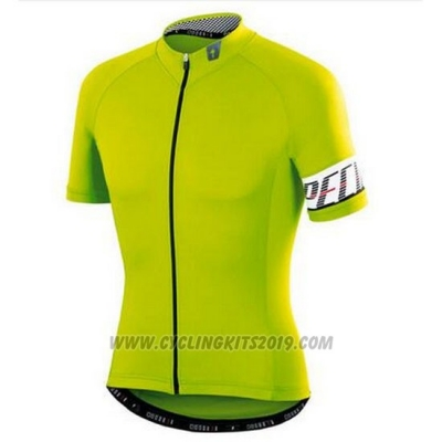 2016 Cycling Jersey Specialized Green and White Short Sleeve and Bib Short