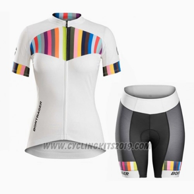 2016 Cycling Jersey Trek Orange and White Short Sleeve and Bib Short