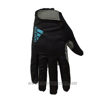 2017 Adidas Full Finger Gloves Cycling Black