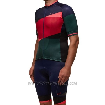 2017 Cycling Jersey Maap Red Short Sleeve and Bib Short