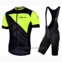 2019 Cycling Jersey Nalini Volata 2.0 Black Yellow Short Sleeve and Bib Short