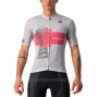 2021 Cycling Jersey Giro D'italy White Pink Short Sleeve and Bib Short
