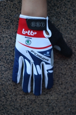 2014 Lotto Full Finger Gloves Cycling
