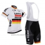 2015 Cycling Jersey Lotto Soudal Campione Germany Short Sleeve and Bib Short