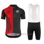 2018 Cycling Jersey Assos SS.Capeepicxc Red Short Sleeve and Bib Short
