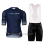 2018 Cycling Jersey Campagnolo Platino Dark Blue Short Sleeve and Bib Short