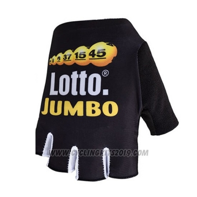 2018 Lotto NL-Jumbo Gloves Cycling