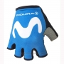 2018 Movistar Gloves Cycling Blue White