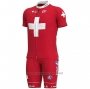 2020 Cycling Jersey Switzerland Short Sleeve and Bib Short