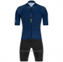 2020 Cycling Jersey UCI Deep Blue Short Sleeve and Bib Short