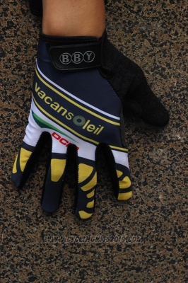 Vacansoleil Full Finger Gloves Cycling