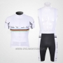 2011 Cycling Jersey Nalini White Short Sleeve and Salopette