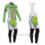 2014 Cycling Jersey Cannondale Campione New Zealand Long Sleeve and Bib Tight