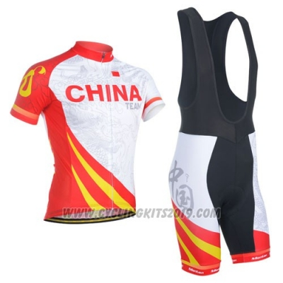 2014 Cycling Jersey Monton Campione China Short Sleeve and Bib Short