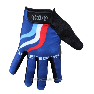 2014 Luxembourg Full Finger Gloves Cycling