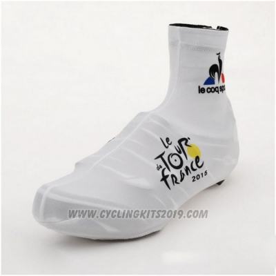 2015 Tour de France Shoes Cover Cycling White