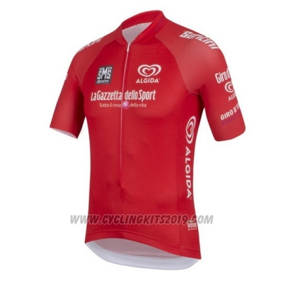 2016 Cycling Jersey Giro D'italy Red Short Sleeve and Bib Short