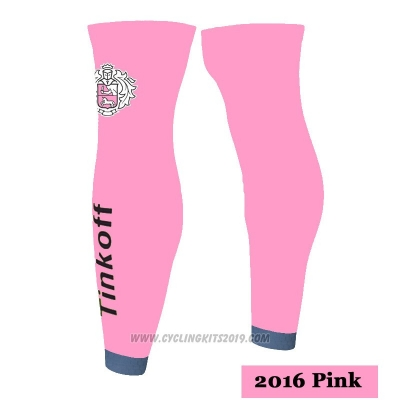 2016 Saxo Bank Tinkoff Leg Warmer Cycling Pink