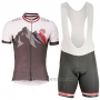 2017 Cycling Jersey Maloja Marron Short Sleeve and Bib Short