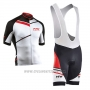 2017 Cycling Jersey Northwave White Short Sleeve and Bib Short