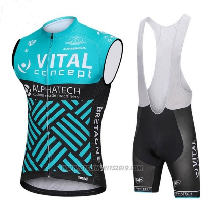 2018 Wind Vest Vital Concept Alphatech Blue and Black