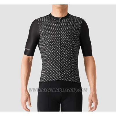 2019 Cycling Jersey La Passione Black Short Sleeve and Bib Short