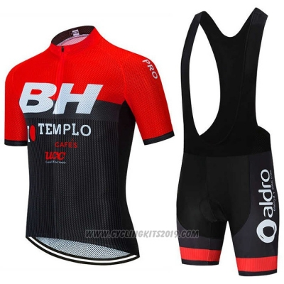 2020 Cycling Jersey BH Templo Red Black White Short Sleeve and Bib Short