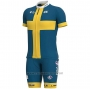 2020 Cycling Jersey Sweden Short Sleeve and Bib Short