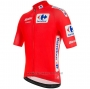 2020 Cycling Jersey Vuelta Espana Red Short Sleeve and Bib Short