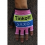 2020 Tinkoff Saxo Gloves Cycling Pink