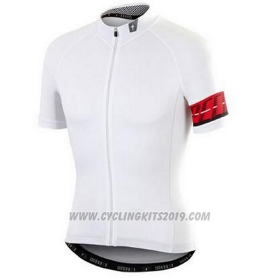 2016 Cycling Jersey Specialized White Short Sleeve and Bib Short