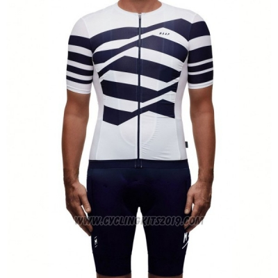 2017 Cycling Jersey Maap M-flag Pro White Short Sleeve and Bib Short