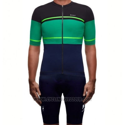 2017 Cycling Jersey Maap Segment Pro Black and Green Short Sleeve and Bib Short