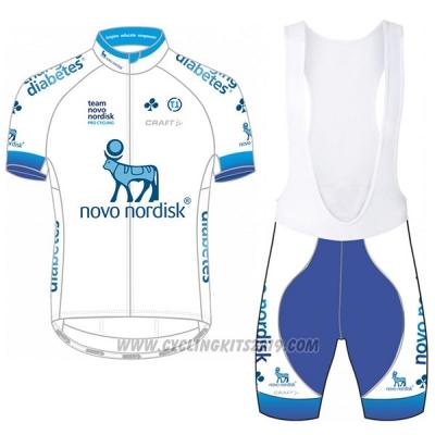 2c50094c8 2017 Cycling Jersey Novo Nordisk White Short Sleeve and Bib Short