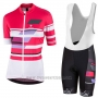 2017 Cycling Jersey Women Nalini Dolomiti Red Short Sleeve and Bib Short