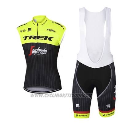 2017 Wind Vest Trek Segafredo Yellow and Black